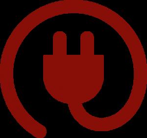 lectricité rouge 300x282 - Électricité