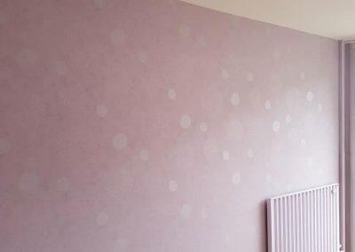 Rénovation peinture chambre 2 400x284 - Peinture