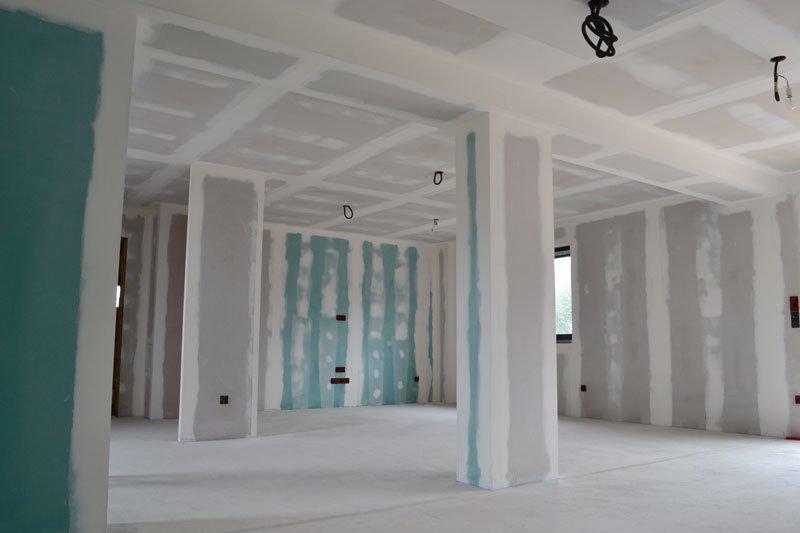Travaux en cours - Placo / faux plafond